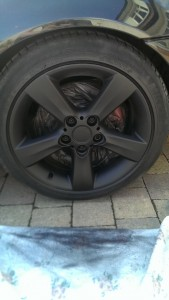 kens bmw wheels plasti dip black