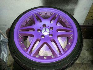 plastidip purple wheels 4
