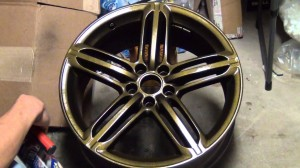 plasti dip metalizer can gold wheel
