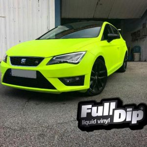full dip fluorescent yellow
